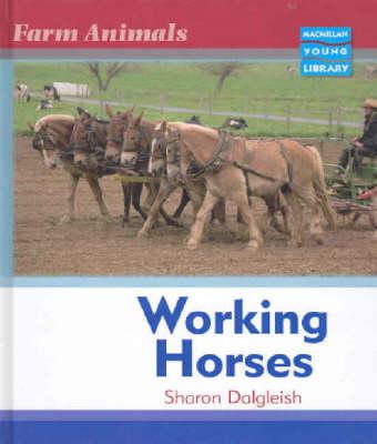 Farm Animals Horses Macmillan Library (Hardback)