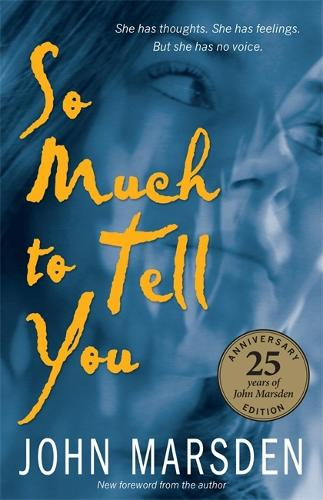 So Much To Tell You: 25th Anniversary Edition (Paperback)