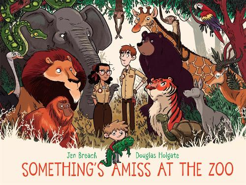 Something's Amiss at the Zoo (Paperback)