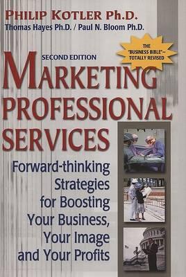 Mktg Professional Services (Hardback)