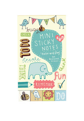 Kate Sutton Note and Flag Mini Sticky Notes (Stickers)