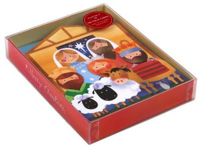 Nativity Tri-Fold Notecards