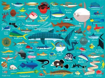 Ocean Life 1000 Piece Family Puzzle (Hardback)