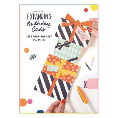 Cheree Berry Expanding Birthday Card Set By Galison Waterstones