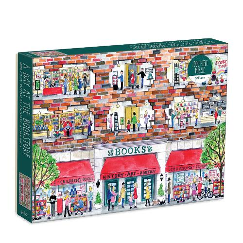 Michael Storrings A Day at the Bookstore 1000 Piece Puzzle (Jigsaw)