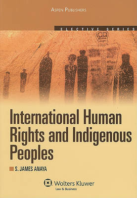 International Human Rights and Indigenous Peoples: 2010 - Elective (Paperback)