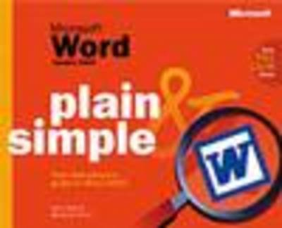 Microsoft Word Version 2002 Plain and Simple (Paperback)
