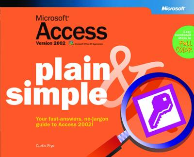 Microsoft Access Version 2002 Plain and Simple (Paperback)