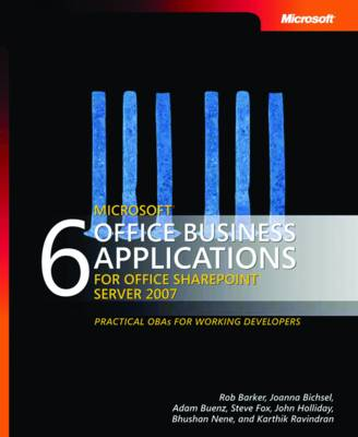 6 Microsoft Office Business Applications for Office SharePoint Server 2007 (Paperback)