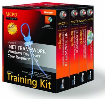 MCPD Self-paced Training Kit (exams 70-536, 70-526, 70-548): Microsoft.NET Framework Windows Developer Core Requirements
