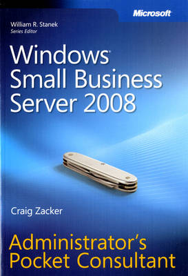 Windows Small Business Server 2008 Administrator's Pocket Consultant (Paperback)