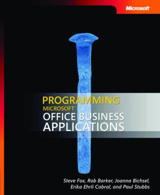 Programming Microsoft Office Business Applications (Paperback)