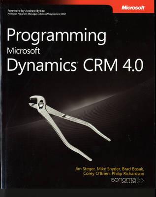 Programming Microsoft Dynamics CRM 4.0 (Paperback)