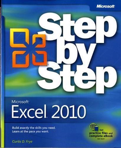 Microsoft Excel 2010 Step by Step (Paperback)