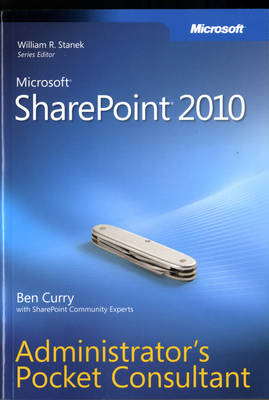 Microsoft SharePoint 2010 Administrator's Pocket Consultant (Paperback)