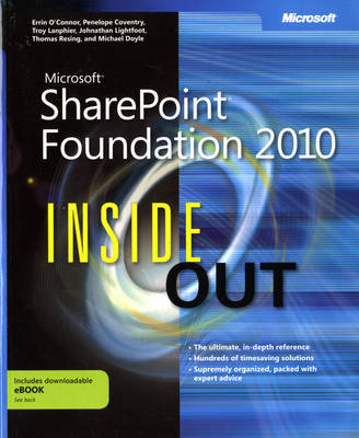 Microsoft SharePoint Foundation 2010 Inside Out (Paperback)