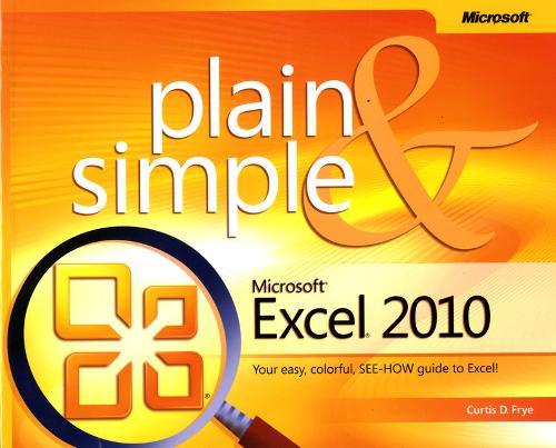 Microsoft Excel 2010 Plain & Simple (Paperback)