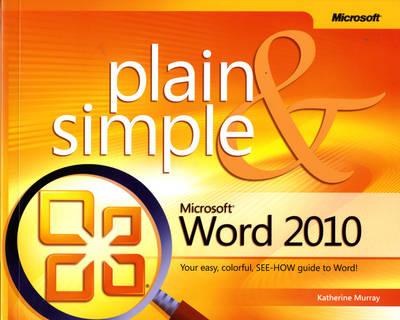 Microsoft Word 2010 Plain & Simple (Paperback)