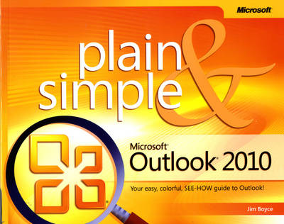 Microsoft Outlook 2010 Plain & Simple (Paperback)