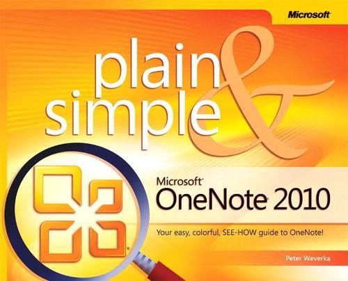 Microsoft OneNote 2010 Plain & Simple (Paperback)