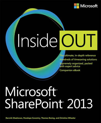 Microsoft SharePoint 2013 Inside Out (Paperback)