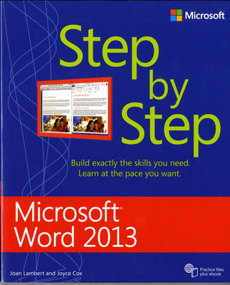 Microsoft Word 2013 Step By Step - Step by Step (Paperback)