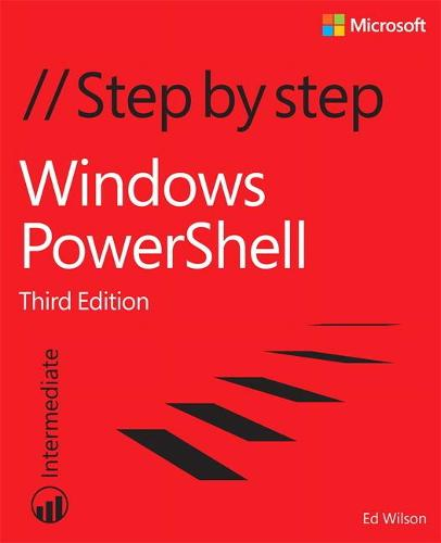 Windows PowerShell Step by Step (Paperback)