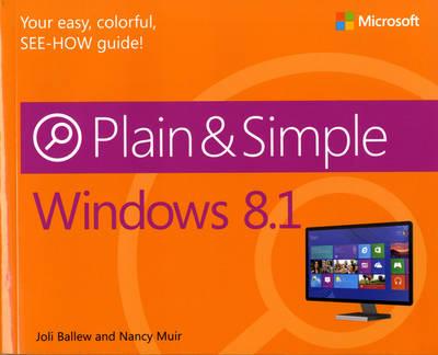 Windows 8.1 Plain & Simple (Paperback)