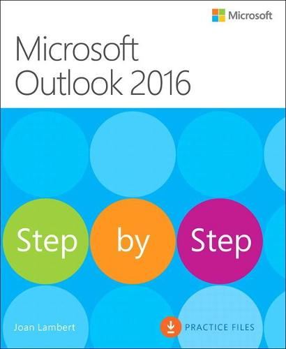 Microsoft Outlook 2016 Step by Step (Paperback)