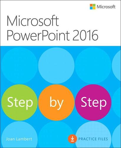 Microsoft PowerPoint 2016 Step by Step (Paperback)