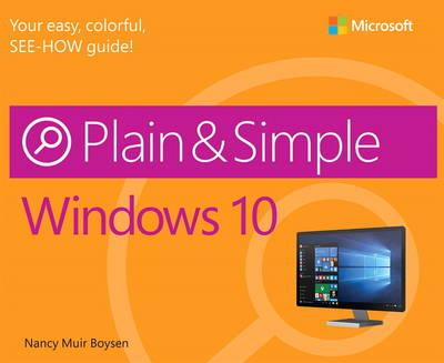 Windows 10 Plain & Simple (Paperback)