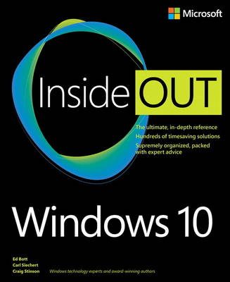 Windows 10 Inside Out (Paperback)