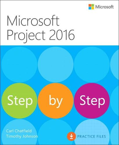 Microsoft Project 2016 Step by Step (Paperback)