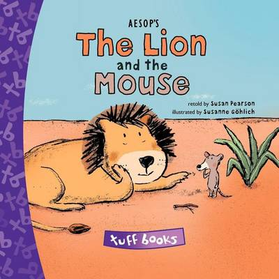 Aesop's The Lion and the Mouse Tuff Book (Hardback)
