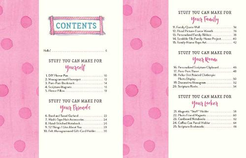 52 DIY Crafts for Girls: Pretty Projects You Were Made to Create! (Paperback)