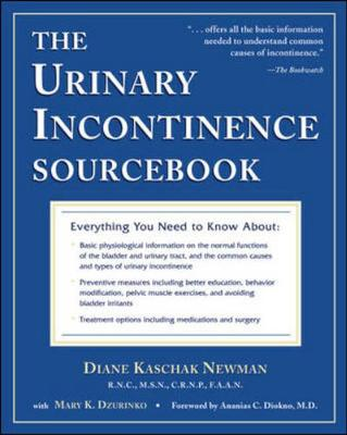 The Urinary Incontinence Sourcebook (Paperback)