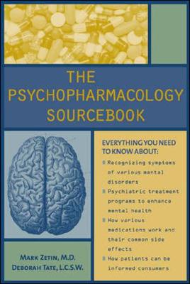 The Psychopharmacology Sourcebook (Paperback)