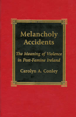 Melancholy Accidents: The Meaning of Violence in Post-famine Ireland (Hardback)