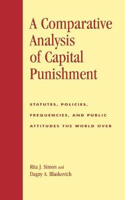 an analysis of the capital punishment and the use of death penalty
