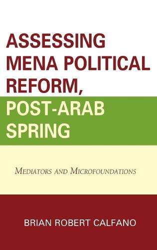 Assessing MENA Political Reform, Post-Arab Spring: Mediators and Microfoundations (Hardback)