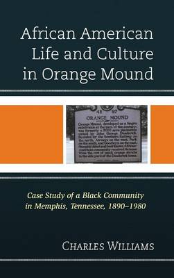 African American Life and Culture in Orange Mound: Case Study of a Black Community in Memphis, Tennessee, 1890-1980 (Hardback)