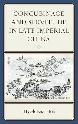 Concubinage and Servitude in Late Imperial China (Paperback)