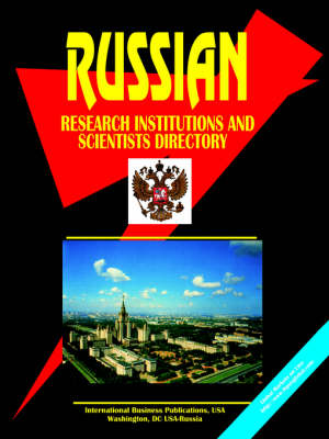 Russian Research Institutions and Scientists Directory (Paperback)