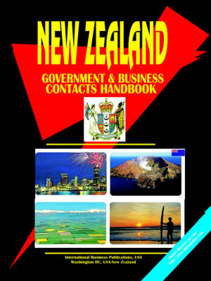 New Zealand Government and Business Contacts Handbook. (Paperback)