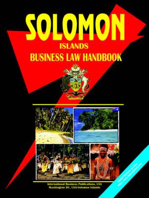 Solomon Islands Business Law Handbook (Paperback)