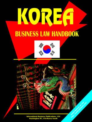 Korea South Business Law Handbook (Paperback)