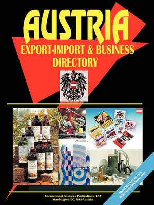 Austria Export-Import and Business Directory by Ibp Usa, Usa Ibp Usa |  Waterstones