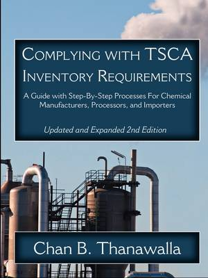 Complying With TSCA Inventory Requirements (Paperback)