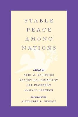 Stable Peace Among Nations (Paperback)