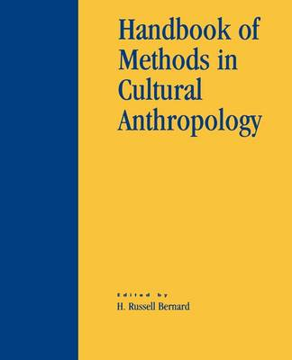 Handbook of Methods in Cultural Anthropology (Paperback)